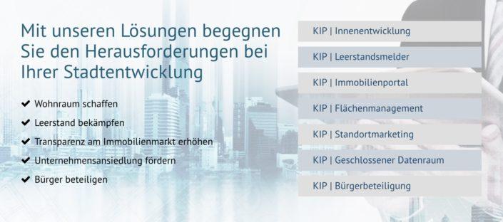 KIP Produktübersicht